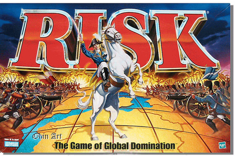 Running A Startup Is Like Playing RISK The Board Game