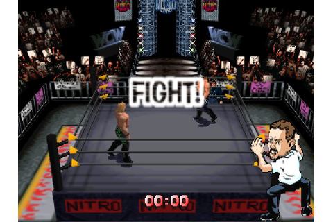 WCW/nWo Revenge (1998) by Asmik N64 game