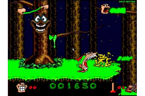 Boogerman - A Pick and Flick Adventure (Europe) ROM