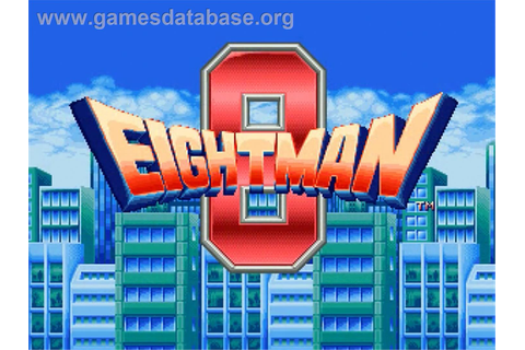 EightMan - OpenBOR - Games Database