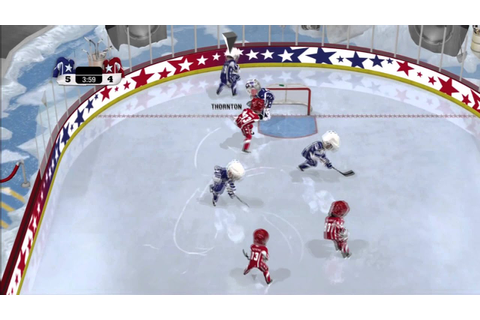 NHL 3 on 3 Arcade - Game 1 - YouTube