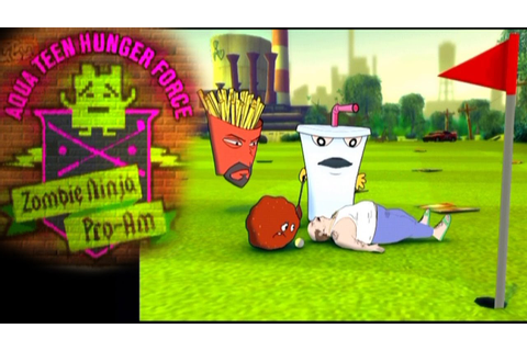 Aqua Teen Hunger Force: Zombie Ninja Pro Am ... (PS2 ...