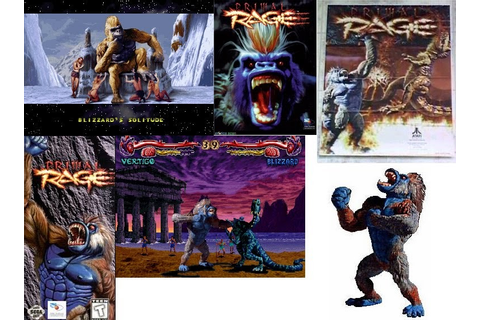 I Loved the Yeti: Yeti Arcade: Primal Rage