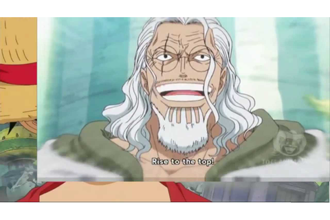 Rayleigh, I'm Gonna Become The Pirate King! (Luffy Leaves ...