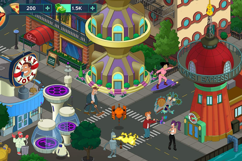 Latest 'Futurama' mobile game is part social sim, part ...