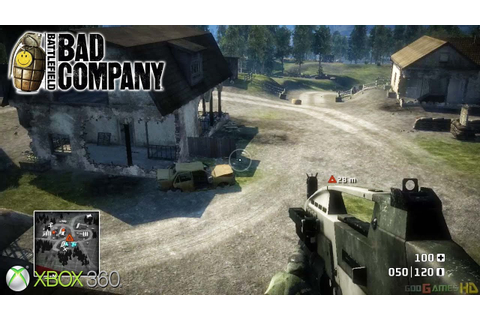 Battlefield: Bad Company - Xbox 360 / Ps3 Gameplay (2008 ...