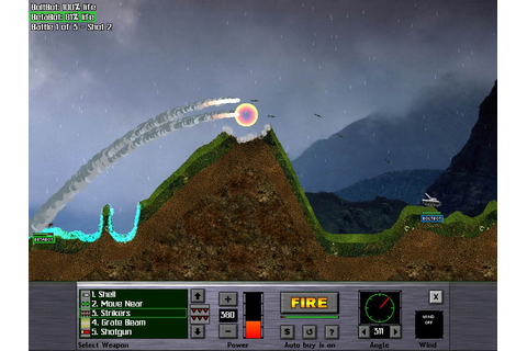 Atomic Cannon - tank/worms based game [ Arcade / shooter ...