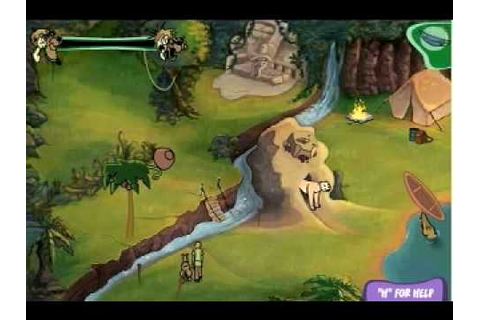 Scooby Doo Game - River Rapids Rampage - YouTube