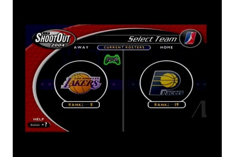 NBA ShootOut 2004 (PS2) Lakers Season Game #3 - YouTube
