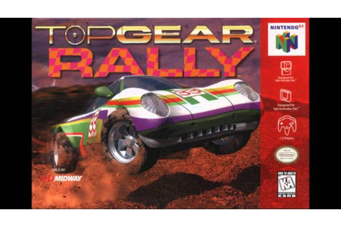 DB Soundtrack - Top Gear Rally for N64