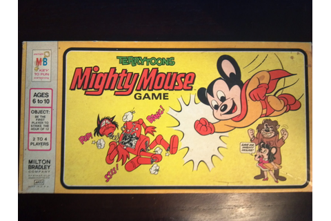 Terrytoons Mighty Mouse Game | A Board Game A Day