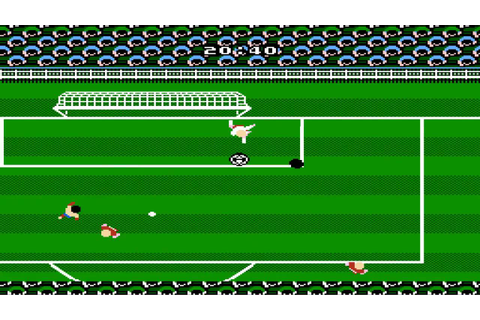 Tecmo World Cup Soccer Partido Final Brazil vs Soviet ...