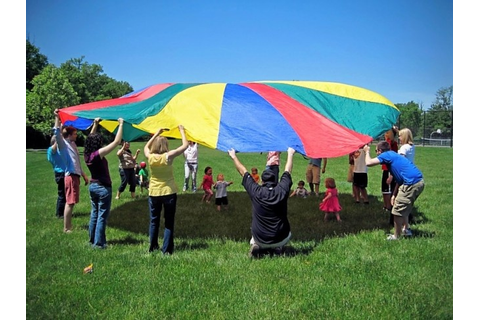 18 parachute game ideas for kids. http://ministry-to ...