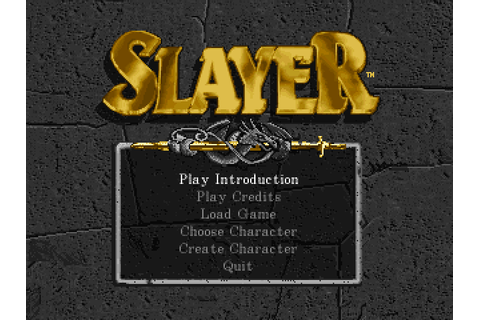 Advanced Dungeons & Dragons: Slayer (1994) by Lion ...