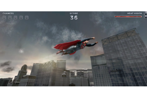 Play as Superman in Man of Steel Browser-Based Game ...