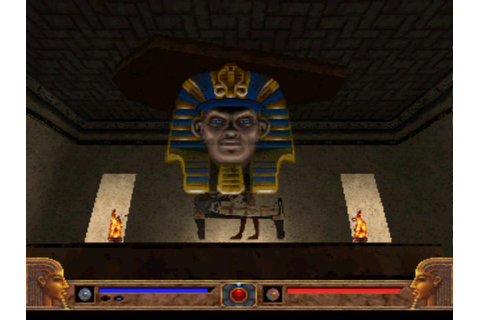 Exhumed is set in an area around the ancient Egyptian city ...