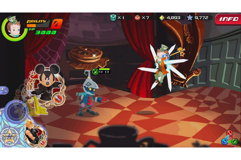 Kingdom Hearts Destiny - Kingdom Hearts Unchained χ - Images