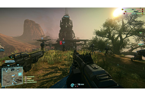 PlanetSide 2 is shooting for 1080p and 60fps on PS4 ...