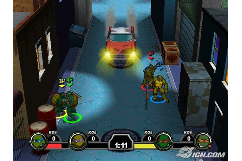 Teenage Mutant Ninja Turtles Mutant Melee pc Game ...