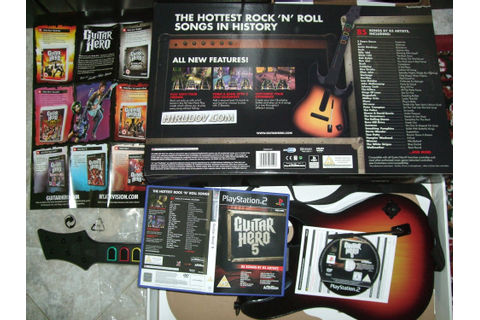 Review of the game Guitar Hero 5 for Sony PlayStation 2 (PS2)