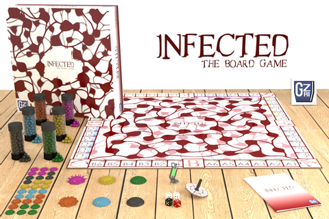 Infected: The board game - Tabletop magnetic strategy game ...