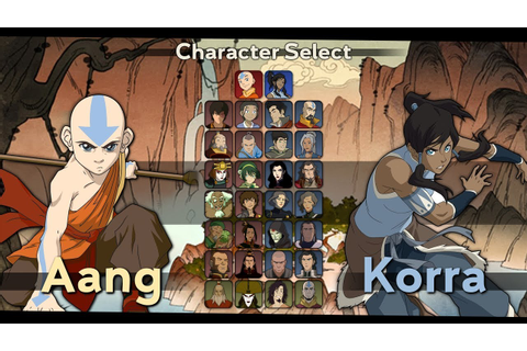 Avatar: The Last Airbender/Legend of Korra Fighting Game ...