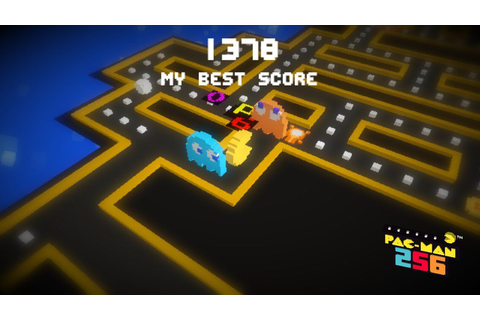 1378! My new best score on #PACMAN256 | Games, Bandai ...