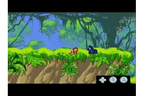 Jugando a Tarzan Return to the jungle GBA Parte 1 - YouTube