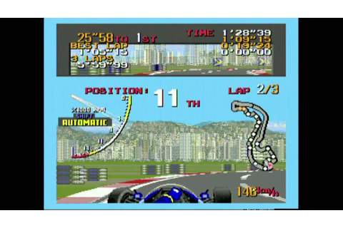 Classic Game Room - SUPER MONACO GP 2 review for Sega ...