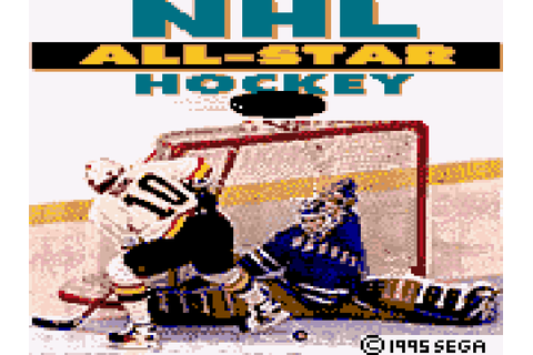 NHL All-Star Hockey 95 Screenshots | GameFabrique
