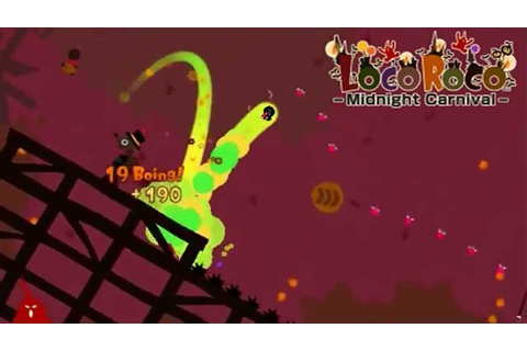 LocoRoco Midnight Carnival Attract Mode (2009, Sony) - YouTube