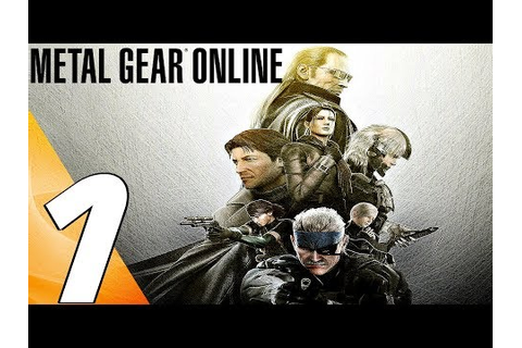 Metal Gear Online 2 - BEST MULTIPLAYER GAME? (PART 1 ...