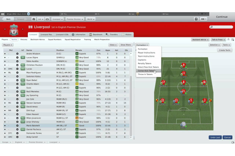 Football Manager 2011: My Liverpool Tactics - YouTube