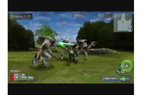 Phantasy Star Portable - PSP GamePlay - YouTube