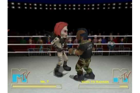 MTV's Celebrity Deathmatch (PS2 Gameplay) - YouTube