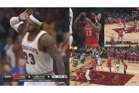 NBA LIVE 15 GAMEPLAY! Will this be a GOOD Basketball Game ...