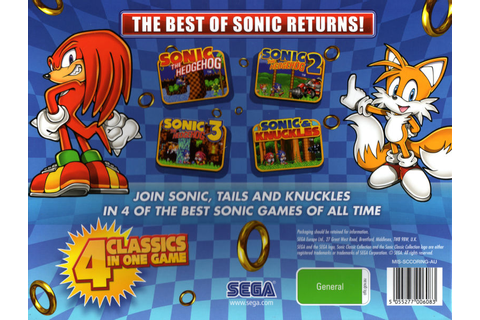 Sonic Classic Collection (Limited Edition) (2010) Nintendo ...