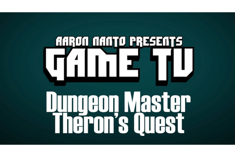GAME TV - Dungeon Master Theron's Quest (TurboDuo, 1993 ...
