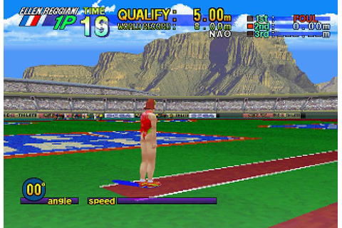 Decathlete (1996) by Sega Saturn game