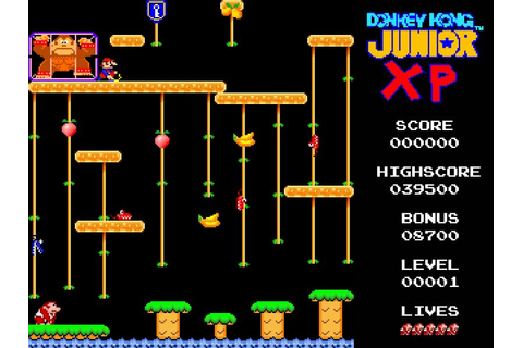 Donkey Kong Junior XP - Freegamearchive.com