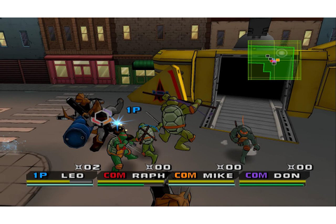 PCSX2 Emulator 1.5.0-405 | Teenage Mutant Ninja Turtles 3 ...