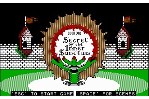 Might and Magic: Secret of the Inner Sanctum (DOS) Game ...