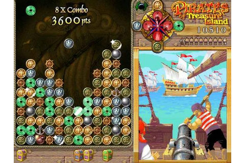 Pirates Treasure Island Arcade Pirate game