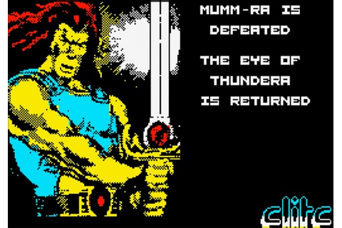Elite's ThunderCats – a vintage video game tale ...