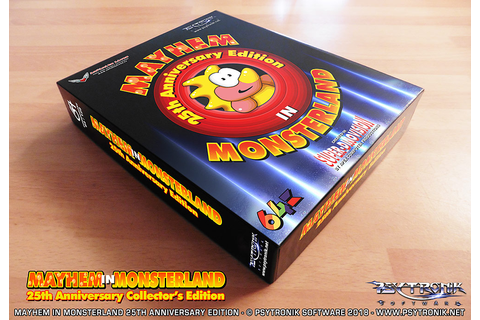Mayhem in Monsterland - 25th Anniversary Edition (C64)