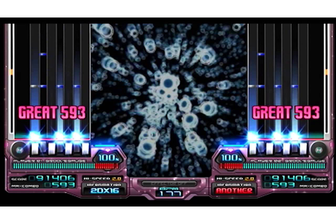 CS beatmania IIDX 16 EMPRESS RIZING YOU UP(A) Auto play ...