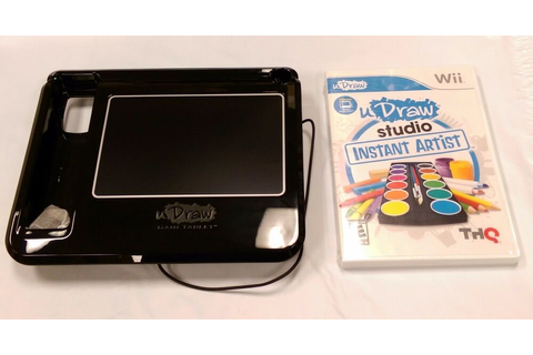 uDraw Game tablet with uDraw Studio: Instant Artist ...