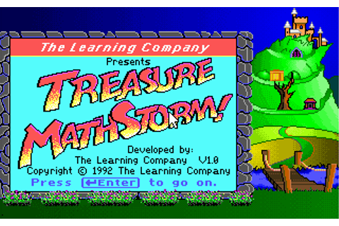Download Treasure MathStorm! - My Abandonware
