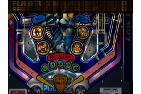 True Pinball Screenshots for PlayStation - MobyGames