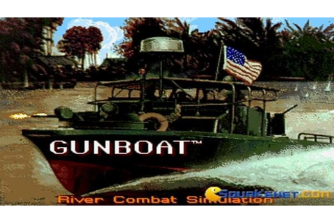 Gunboat gameplay (PC Game, 1990) - YouTube